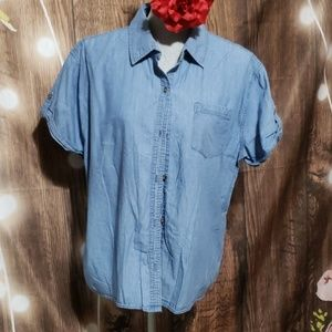 Westbound button down